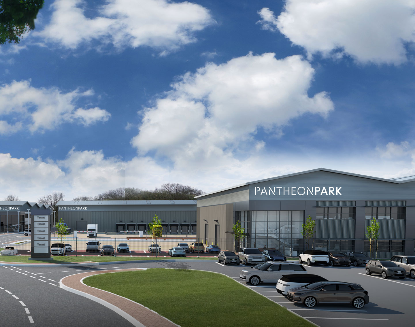 PLANS ARE UNVEILED FOR DEVELOPMENT OF FOUR MID-BOX WAREHOUSES